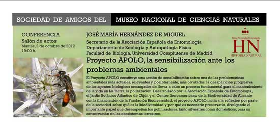 CONFERENCIAS: PROYECTO APOLO